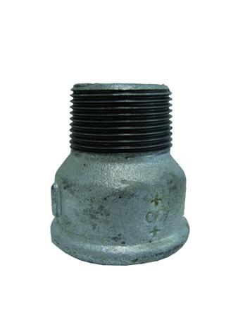 """Afbeeldingen van Soknippel gegalvaniseerd bi.dr. / bu.dr.  ¼ """" x  1/8 """""""