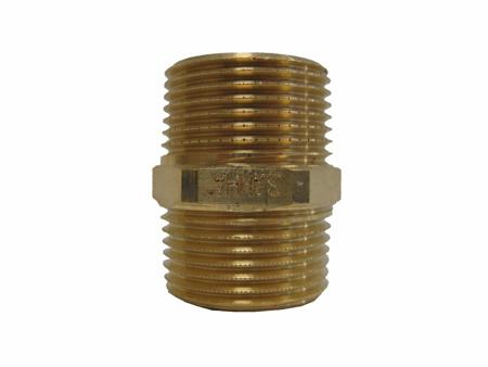 """Picture of Dubbel conische nippel brons 1 ¼ """""""