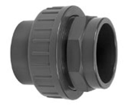 Picture of PVC koppelingen 2 x lijmverbinding, 90 mm 16 bar
