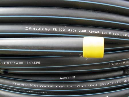 Picture of Tyleenleiding PE 100 KIWA 40 x 2,4 mm, 10 bar, 100 meter