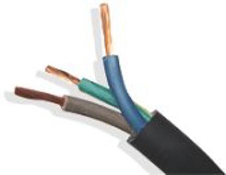 Picture of Rubber elektrokabel H 07 - RNF