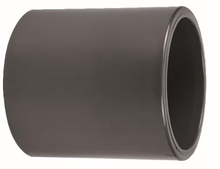 Afbeeldingen van PVC sok spuitgegoten 160 mm, 16 bar