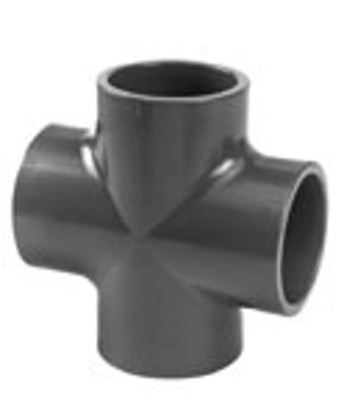 Afbeeldingen van PVC kruisstuk 32 mm, 16 bar