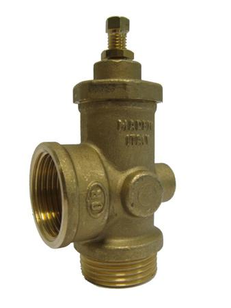 "Picture of Veiligheids/overdruk ventiel, 1"" bi.dr. x 1 ""bu.dr, + ¼""bi.dr"