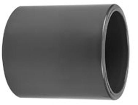 Afbeeldingen van PVC sok spuitgegoten 75 mm, 16 bar