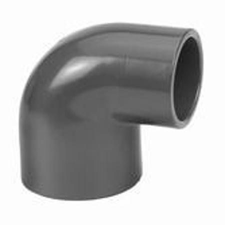 Afbeeldingen van PVC knie 90°, verlopend, 63/50 x 63 mm, 10 bar, KIWA