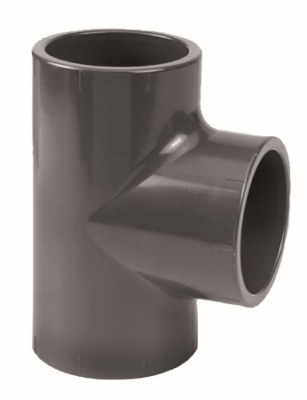Picture of PVC T-stuk 90°, 90 mm, 10 bar, KIWA