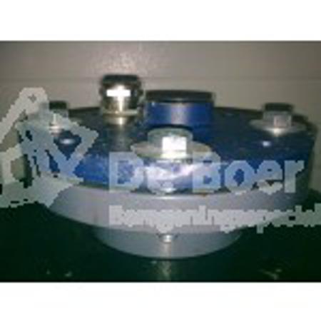 Afbeeldingen van Bronkop PVC/ RVS 110 mm.
