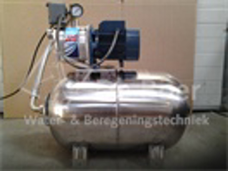 Afbeeldingen van RVS hydrofoor JCR1A/24L, 400 Volt