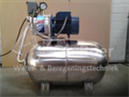 Afbeeldingen van RVS hydrofoor JCRm15M/50L, 230 Volt