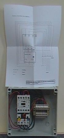 Afbeeldingen van Startkast pomp 230 Volt tot 3,0 PK door beregeningsautomaat.