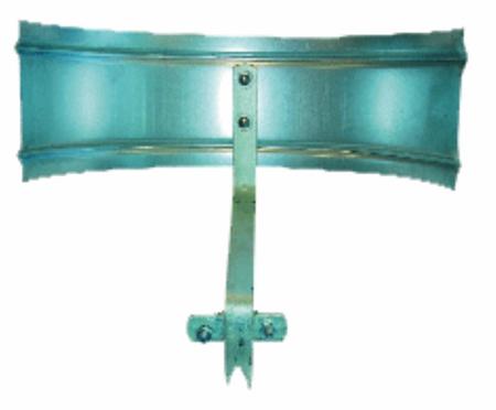 Picture of Gegagalvaniseerd anti spatscherm t.b.v. VYR 33