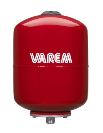 """Picture of VAREM drukvat plaatstaal verticaal, 8 liter, 1"""" bu.dr."""