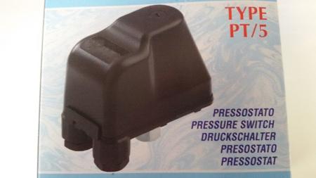 Picture of Drukschakelaar Type PT5, 400 Volt