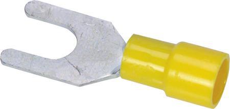 Afbeeldingen van Vorktong Geel, M6, 4,0 - 6,0 mm²