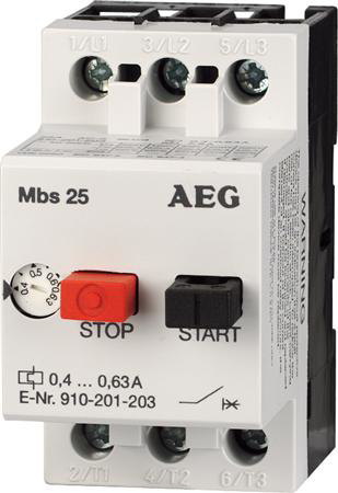 Afbeeldingen van Thermische beveiliging EAG 2,5 zonder kast.