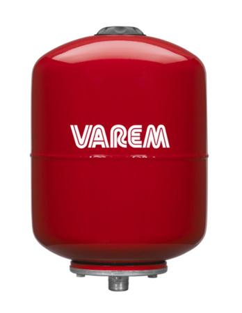 """Picture of VAREM drukvat plaatstaal verticaal, 12 liter, ¾"""" bu.dr."""