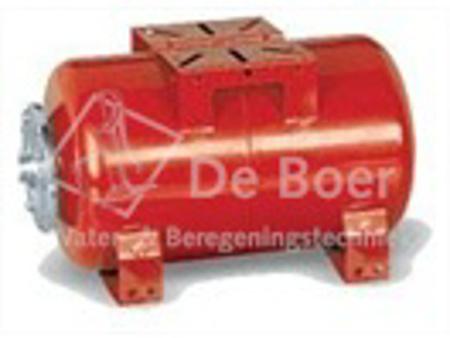 """Picture of Zilmet drukvat plaatstaal horizontaal, 80 liter, 1"""" bu.dr."""